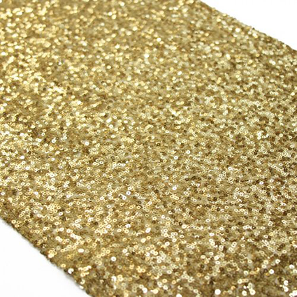 gold-sequin-table-runner