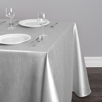 siliver-table-cloth